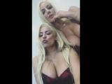 Luna Star  Nicolette Shea хвастаются большими сиськами, звезда порно модель