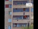 В Кирове спасли ребёнка провисевшего на балконе полчаса