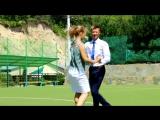 бальный танец - мастер класс от вожатых (К. Баранов)