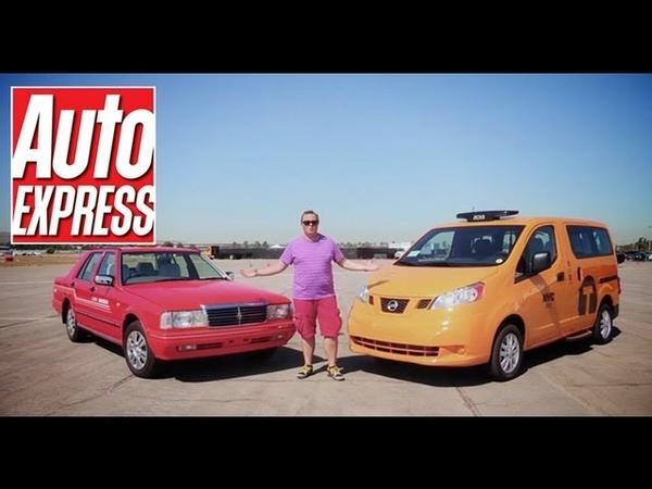 2013 New York taxi vs Nissan Cedric