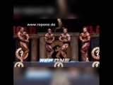 2018 Arnold Classic - TOP-4: Cedric, Dexter, William, Roelly