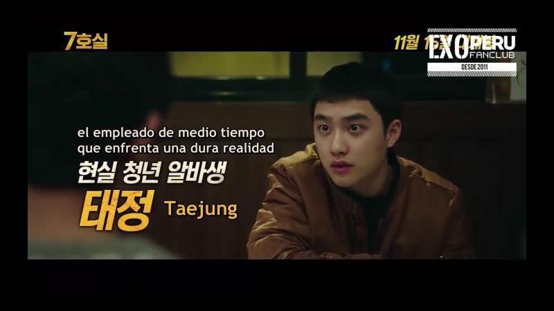 SUB ESP 17 10 31 Kyungsoo @ Room No 7 Introducción del personaje