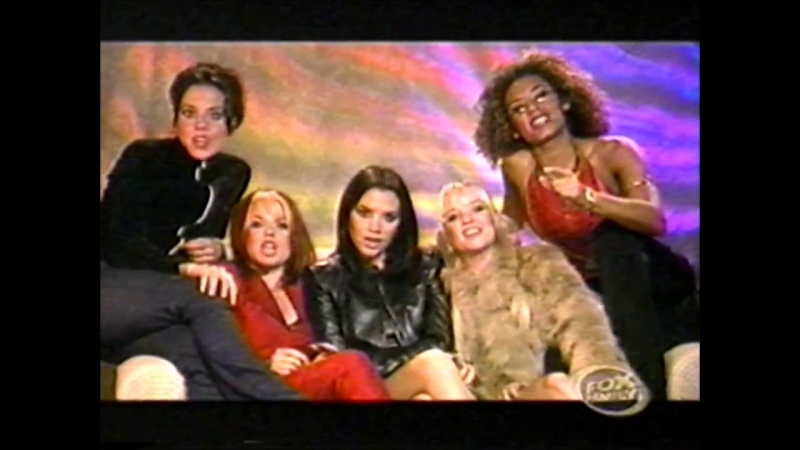 Spice Girls WILD Interview Fox Family Broadcast 02.10.1998