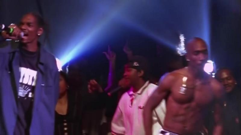 Последний концерт Тупака Шакура 1996г отрывок Gangsta Party HD