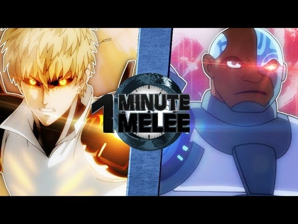 Genos vs Cyborg (One Punch Man vs Teen Titans) - OMM S6 EP6