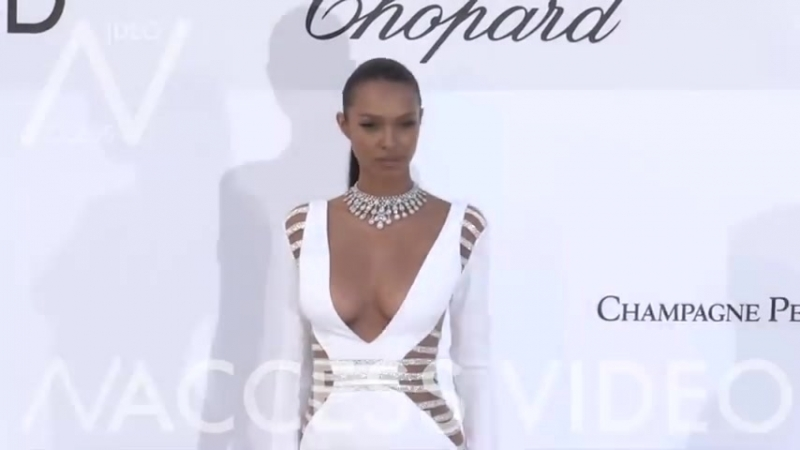 Lais Ribeiro at the 25th annual amfAR Gala in Cannes ( 480 X 854 ).mp4