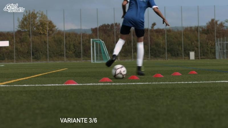 Fussballtraining_ 6er Reihe Teil 2 - Ballkontrolle - Technik