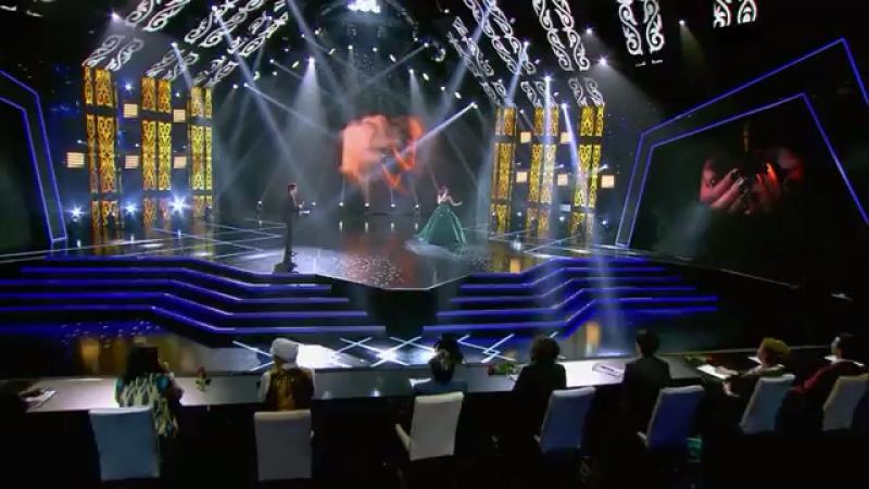 Zarina Altynbaeva ft Aykin Tolopbergen - Anaşım (Silk Way Star 8. bölüm | episode 08) SilkWayStar