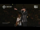 JUNG JOON YOUNG ft. RAP MONSTER - Black or White 정준영140814 M Countdown in La