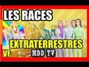 LES RACES EXTRATERRESTRES MDDTV