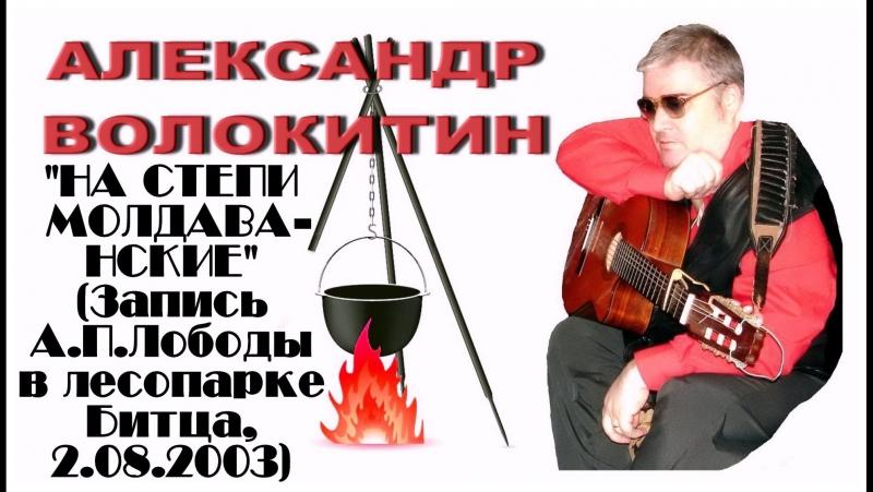 Александр Волокитин - НА СТЕПИ МОЛДАВАНСКИЕ (Запись А.П.Лободы в лесопарке Битца, 2.08.2003)