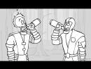 Mortal Kombat - Brotality (анимация: VolF Maple)