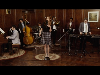 Джазовый кавер хита last friday night - katy perry (40s jazz vibes style cover) ft. olivia kuper harris