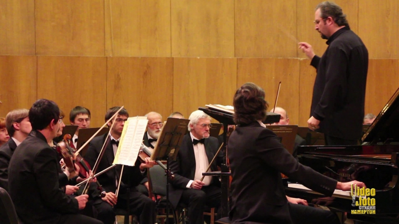 Ф. Лист - Концерт №1 для ф-но с оркестром, исп. Михаил Долгов / Mikhail Dolgov performs Piano Concerto 1 by F. Liszt.
