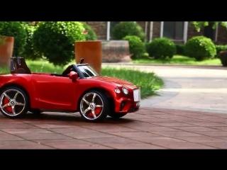 Новый детский электрический автомобиль