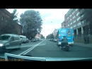 Обиженный байкер разбил зеркало маршрутке