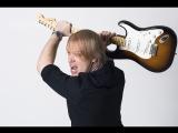 Джем с гитаристом Пилота Андреем Казаченко в шатре Garage Band