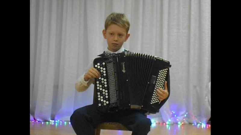 Ульянов Даниил. 8 лет. Р.Бажилин. Деревенские гулянья