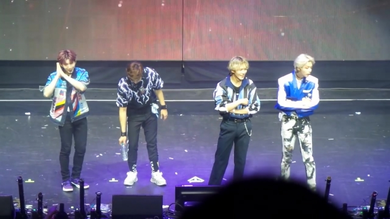 [VK][180617] MONSTA X fancam Sexy Dance @ The 2nd World Tour: The Connect in London