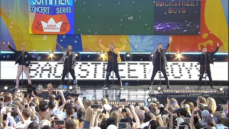 Backstreet Boys - 'I Want it That Way' live on 'GMA'