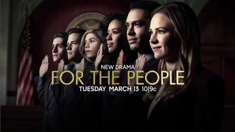 Exclusive First Look at ForThePeople premiering Tuesday, March 13 on ABC
