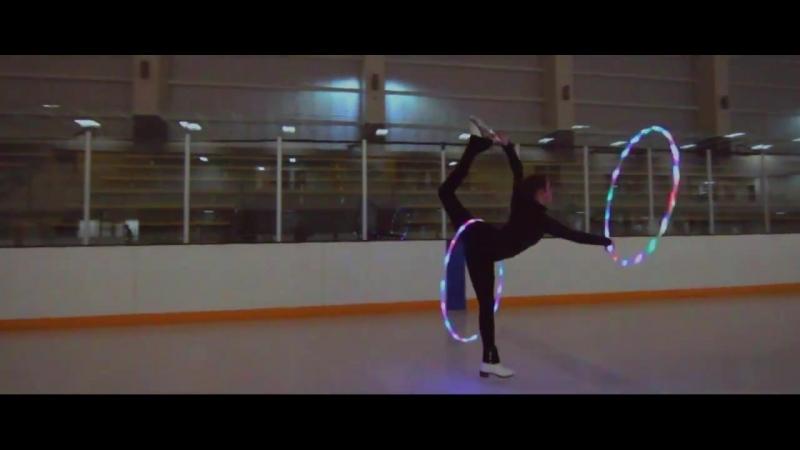 Jamie Ann Chandler Hoops On Ice