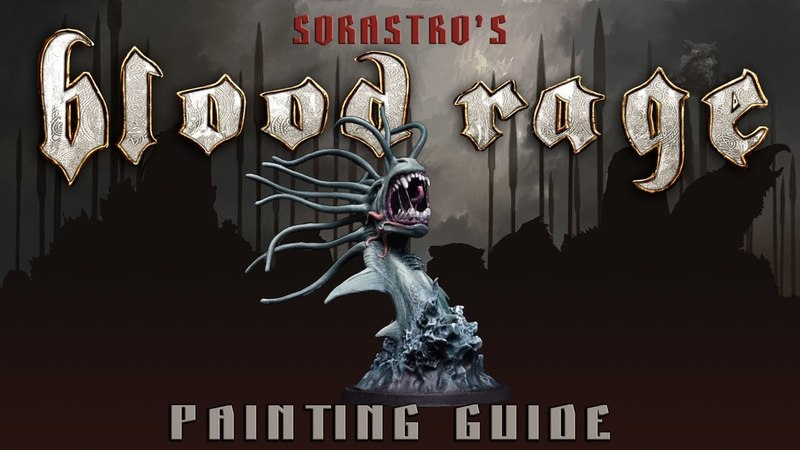 Sorastro's Blood Rage Painting Guide Ep.4: The Sea Serpent