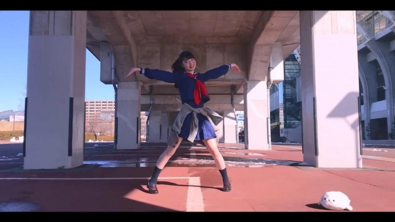 【セーラー服で】 ルカルカ★ナイトフィーバー 踊ってみた 【ややぴ】 sm32784042