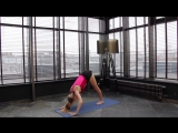 Комплекс упражнений на развитие гибкости подколенных связок и задней поверхности бедра от Аллы Косинской