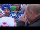 Владимир Путин встретился с детьми, приехавшими на новогоднюю ёлку в Кремль