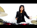 Steelheart - Shes Gone - Drum Cover by Nur Amira Syahira