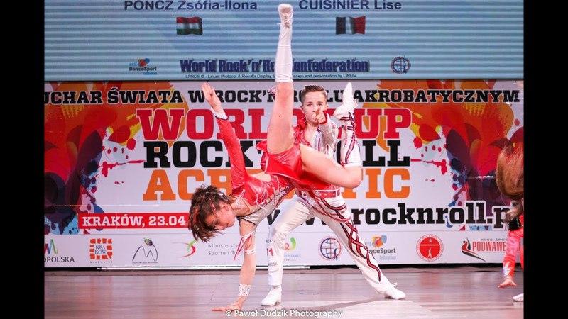 WORLD CUP ROCK'N'ROLL ACROBATIC KRAKOW 2018