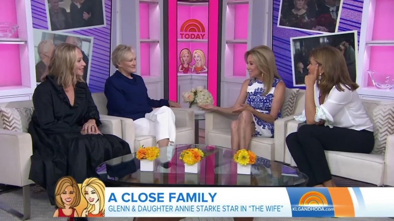 Glenn Close And Daughter Annie Starke Open About Working On 'The Wife' ¦ TODAY