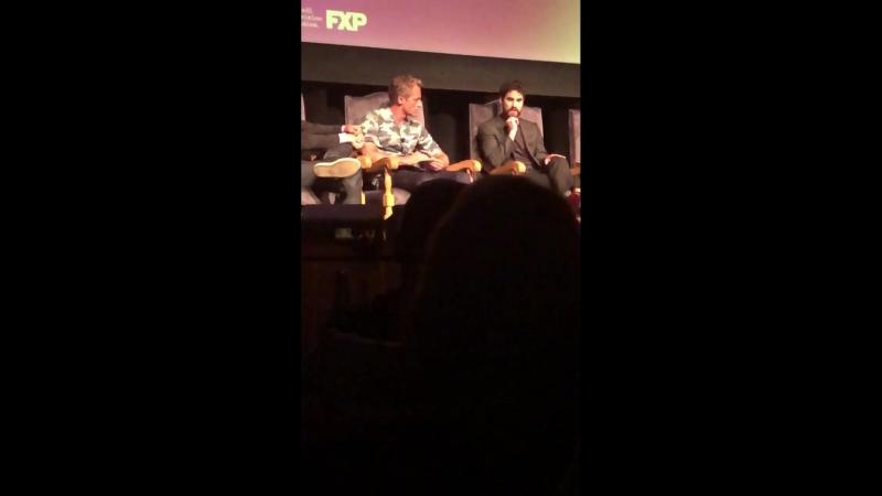 Darren Criss on being an actor ACSVersace Fox21 FX