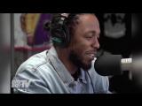 Kendrick Lamar фристайлит на Big Boy TV [Рифмы и Панчи]