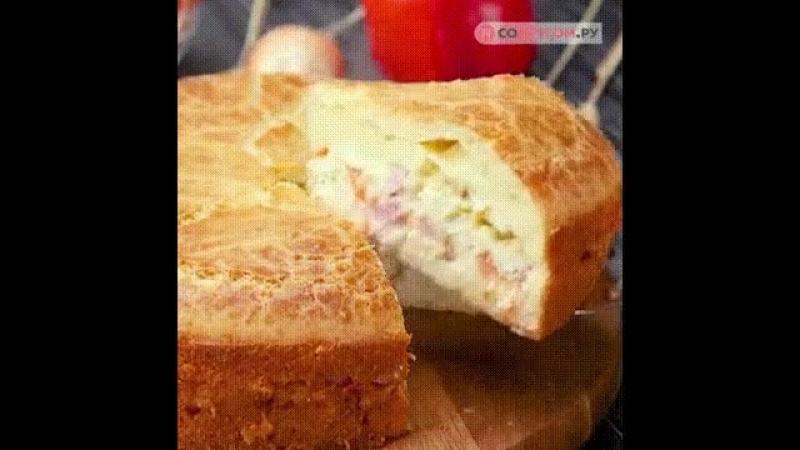 Заливной ПП-пирог за 5 минут
