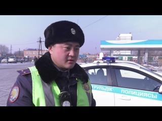 В пригороде Усть-Каменогорска полицейские задержали водителя с поддельным водительским удостоверением
