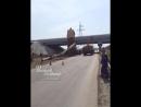 Под Койсугом перевернулся кран 12.4.2018 Ростов-на-Дону Главный