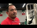 Sergey Kovalev in camp with a new trainer - esnews boxing