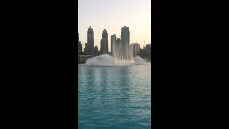 Вид на Burj Khalifa