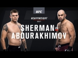 UFC Fight Night 122 Sherman vs Abdurakhimov