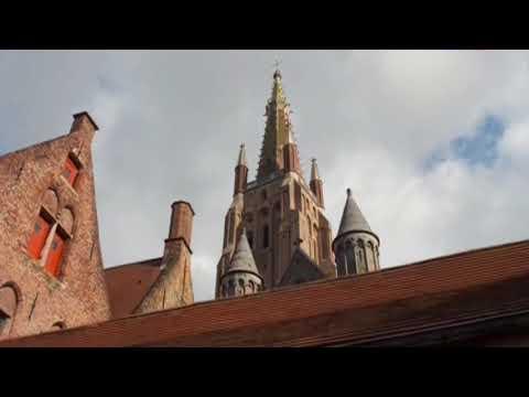 Средневековый город Брюгге. Город сказка. Историческое наследие и достопримечательности Бельгия