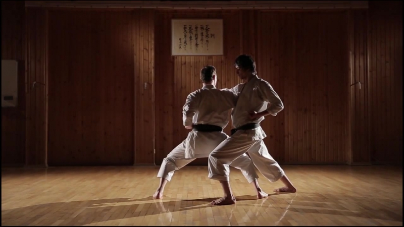 Кумитэ-ката Дзёку сан - Kumite-kata Joku san HD 720