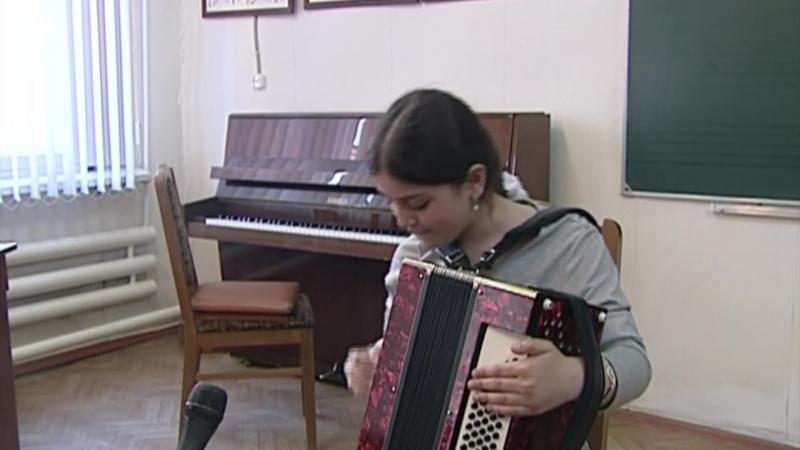 Отчетный концерт школы искусств г.Карабулак