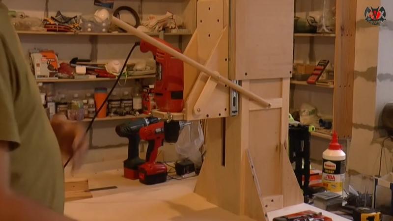 Сверлильный станок из дрели своими руками. Часть 3 _ Homemade Drill Press