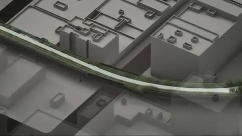 High line park - проектное видео