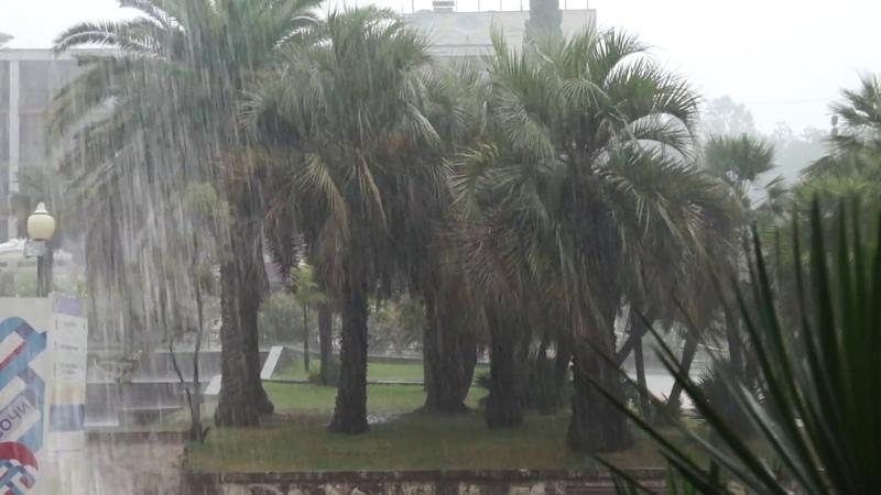 Когда погодка в Сочи не задалась