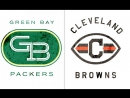 NFL 2017-2018 / Week 14 / 10.12.2017 / Green Bay Packers @ Cleveland Browns