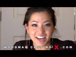 Азиатка на woodman casting morgan lee