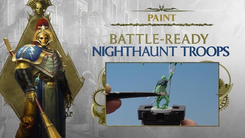 Paint Battle Ready Nighthaunt Troops